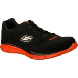 Men's Skechers Equalizer Black/Red