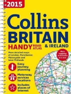 Collins Handy Road Atlas Britain 2015 (Paperback)