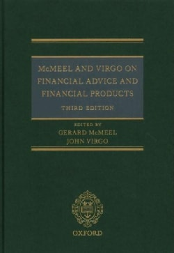 McMeel and Virgo on Financial Advice and Financial Products (Hardcover)