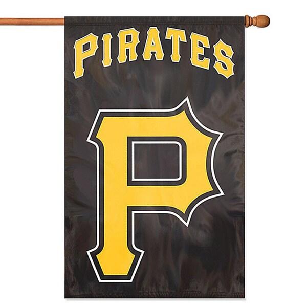 Pirates Applique Banner Flag