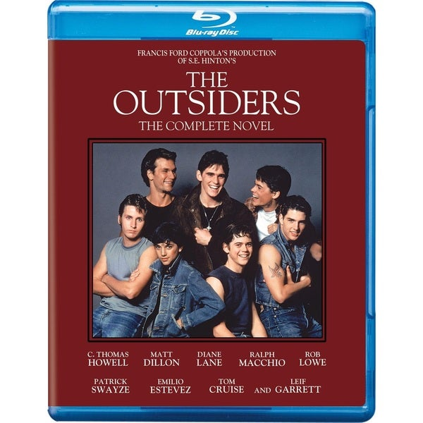 The Outsiders: The Complete Novel Edition (Blu-ray Disc) 12742150