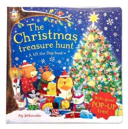 The Christmas Treasure Hunt: A Lift the Flap Book (Hardcover)