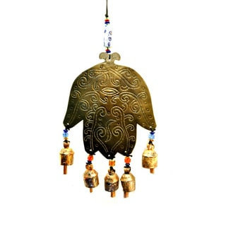 Handmade Henna Wind Chime , Handmade in India