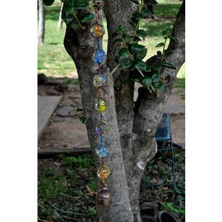 Handmade String of Marbles Wind Chime (India)