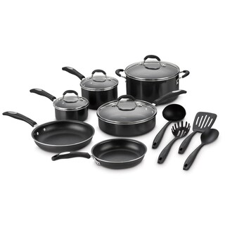 Cuisinart 14-Piece Aluminum Nonstick Cookware Set