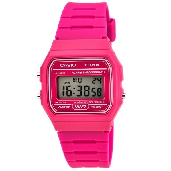 Casio Men's F91WC-4A Classic Resin Strap Digital Sport Watch