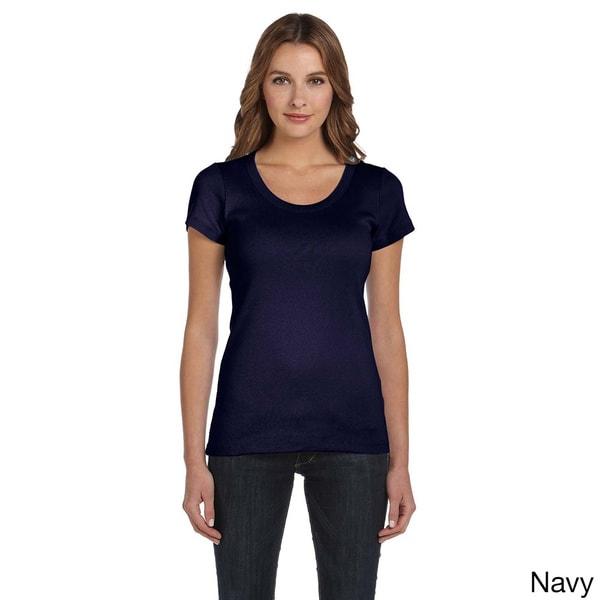 Bella Women's Scoop Neck T-shirt 12743335