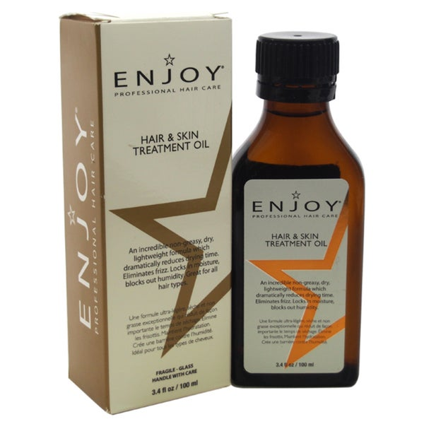 Enjoy Hair and Skin 3.4-ounce Treatment Oil
