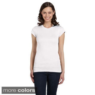 Bella Women's Longer Length Crew Neck T-shirt