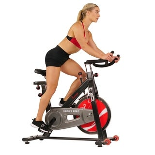 Sunny Health Fitness Chain Drive Indoor Cycling Bike