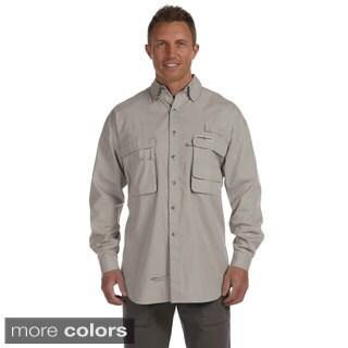 Hook & Tackle Men's 'Gulf Stream' Long Sleeve Fishing Shirt
