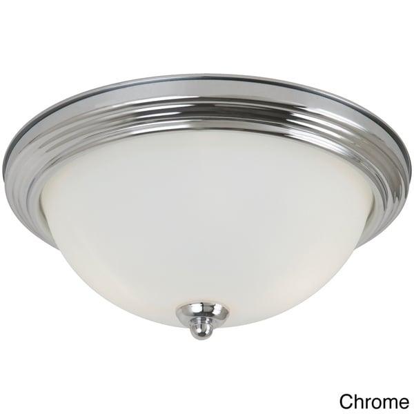 2-light Ceiling Flush Mount