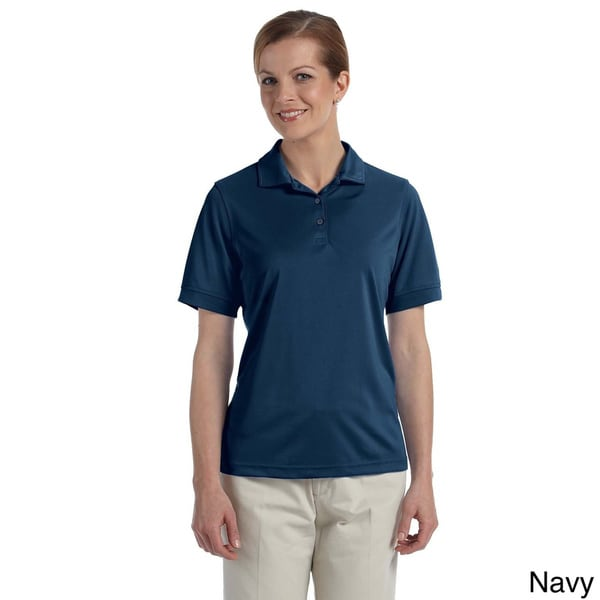 Ashworth Women's Performance Wicking Pique Polo Shirt