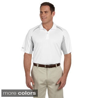 Izod Men's Contrast Block Performance Dobby Polo Shirt