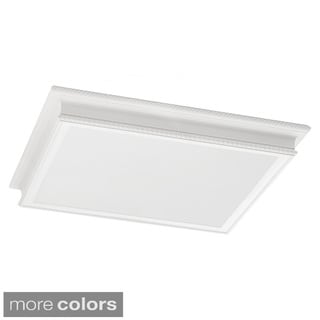 4-light Drop Lens Fluorescent Fixture