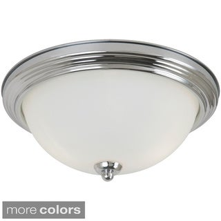 2-light Ceiling Flush Mount