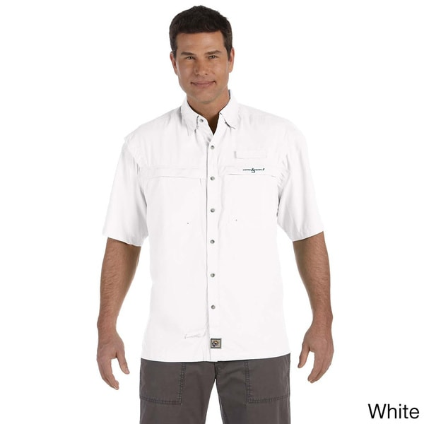 Hook & Tackle Men's 'Peninsula' Short Sleeve Performance Fishing Shirt