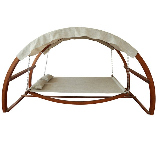 outdoor bed swing with canopy 3