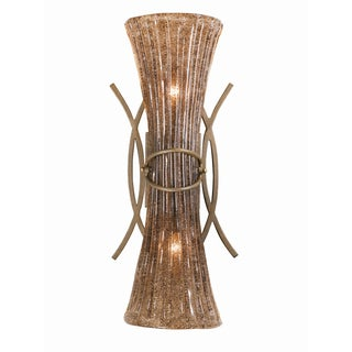 Bali Tropical Bronze 2-light Wall Sconce/Vanity