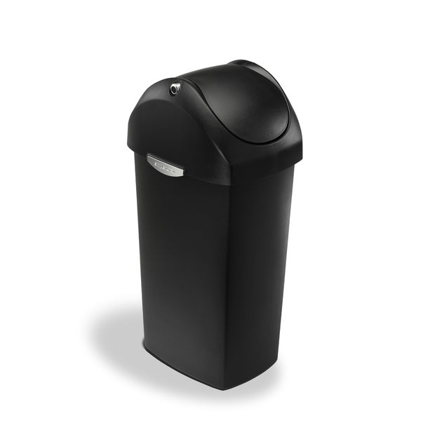 simplehuman 60-liter Swing Lid Trash Can