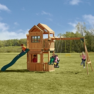 Swing-N-Slide Mountain Hollow Swing Set