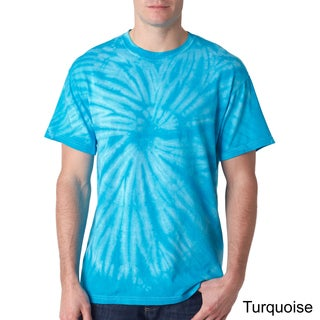 Los Angeles Pop Art Men's Tie-Dye Cyclone T-Shirt
