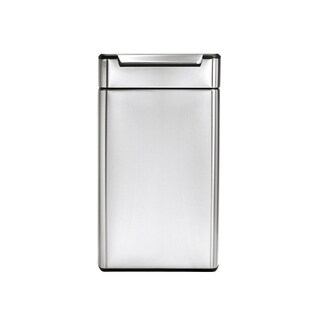 simplehuman Rectangular Touch-Bar Trash Can