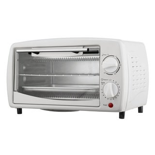Brentwood TS-345W White 4-slice Toaster Oven