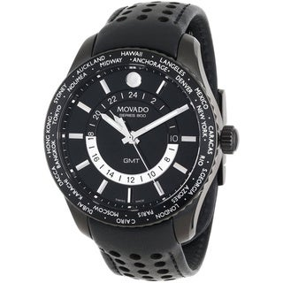 Movado Men's Series 800 Black PVD Watch