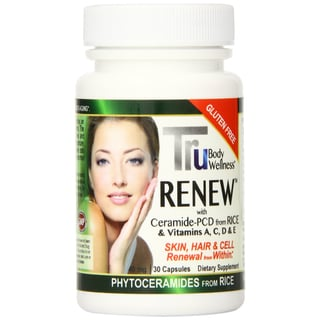 Trubody Wellness Renew Phytoceramides Dietary Supplement (30 Count)