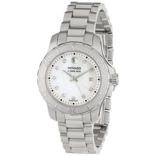 Movado Women's 800 Mother-Of-Pearl Dial Watch