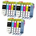 Compatible HP 564XL Replacement CB321WN CB322WN CB323WN CB324WN CB325WN Ink Cartridges (Pack of 15)