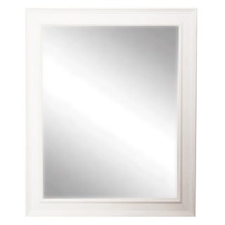 USA Made Rayne Country White Wall Mirror