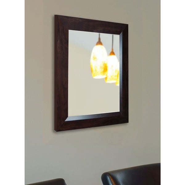 USA Made Rayne Midwest Walnut Wall Mirror