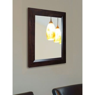 USA Made Rayne Midwest Walnut Wall Mirror
