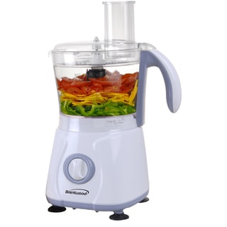 Brentwood White FP-580 1.5-liter Food Processor