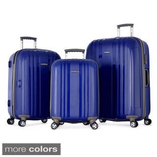 Olympia Tank 3-piece Hardside Spinner Luggage Set