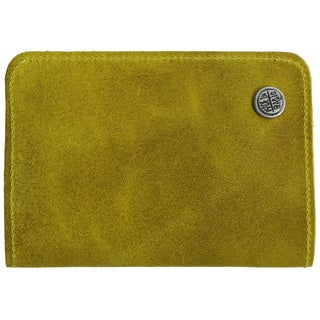 San Cristobal Yellow Distressed Leather Wallet (Colombia)