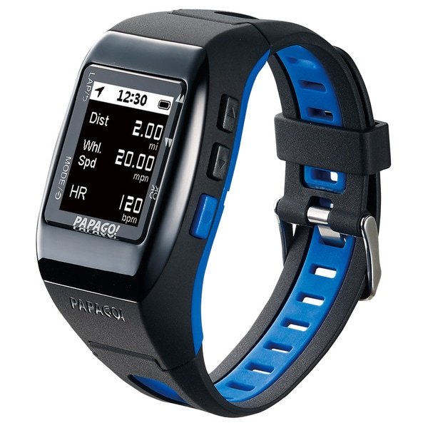PAPAGO! GoWatch 770 GPS Multi-Sports Watch - Blue Belt