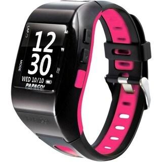 PAPAGO! GoWatch 770 GPS Multi-Sports Watch - Pink Belt