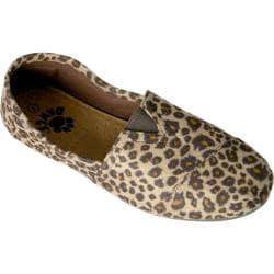 Women's Dawgs Exotic Kaymann Loafer Black/Chestnut Leopard Print
