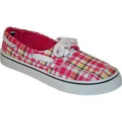 Women's Dawgs Kaymann Boat Shoe Pink Plaid
