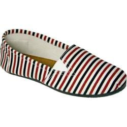 Women's Dawgs Kaymann Slip-On Shoe Multicolored Stripes