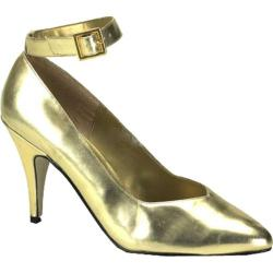 Women's Pleaser Dream 431W Gold PU
