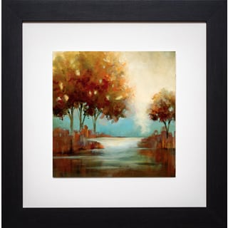 Paul Mathenia 'Fall River II' Framed Print
