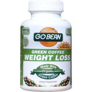 Organic Go Bean Green Coffee Weight Loss Supplement (60 Capsules)
