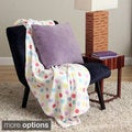 Plush Decorative Throw with Bonus Throw Pillow