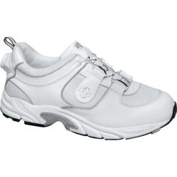 Men's Drew Energy White Leather/White Mesh