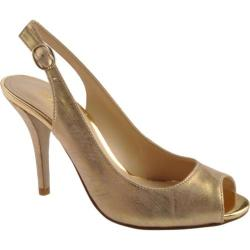 Women's Enzo Angiolini Mykell Light Gold Fabric