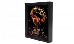 Game of Thrones - Crown 8x10 3D Shadow Box (General merchandise)